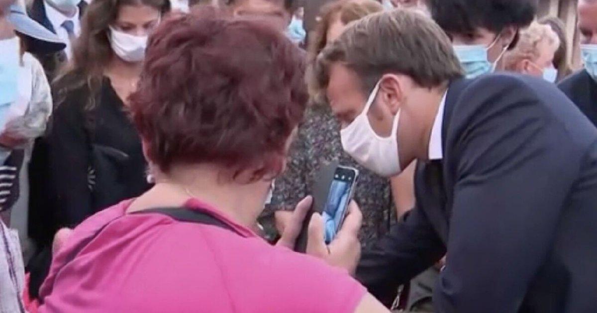 macron.jpeg?resize=412,232 - Ajaccio: une femme handicapée s'est livrée à cœur ouvert à Emmanuel Macron