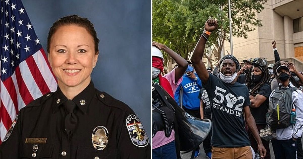 major5.jpg?resize=412,232 - Police Major Who Called BLM Activists A Bunch Of 'Punks' In Email Sent To Colleagues Is Relieved Of Her Duties