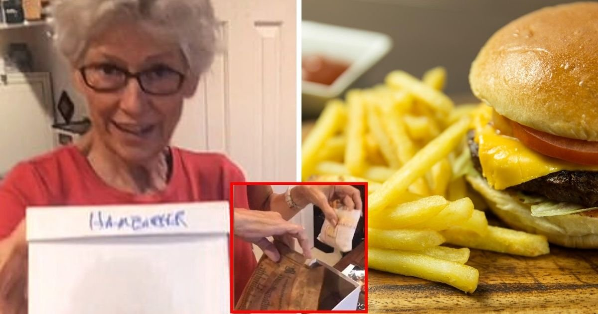 mcdo6.jpg?resize=1200,630 - 'Good As New!' Grandma Shows Off McDonald's Fries And Hamburger She Kept For 24 Years