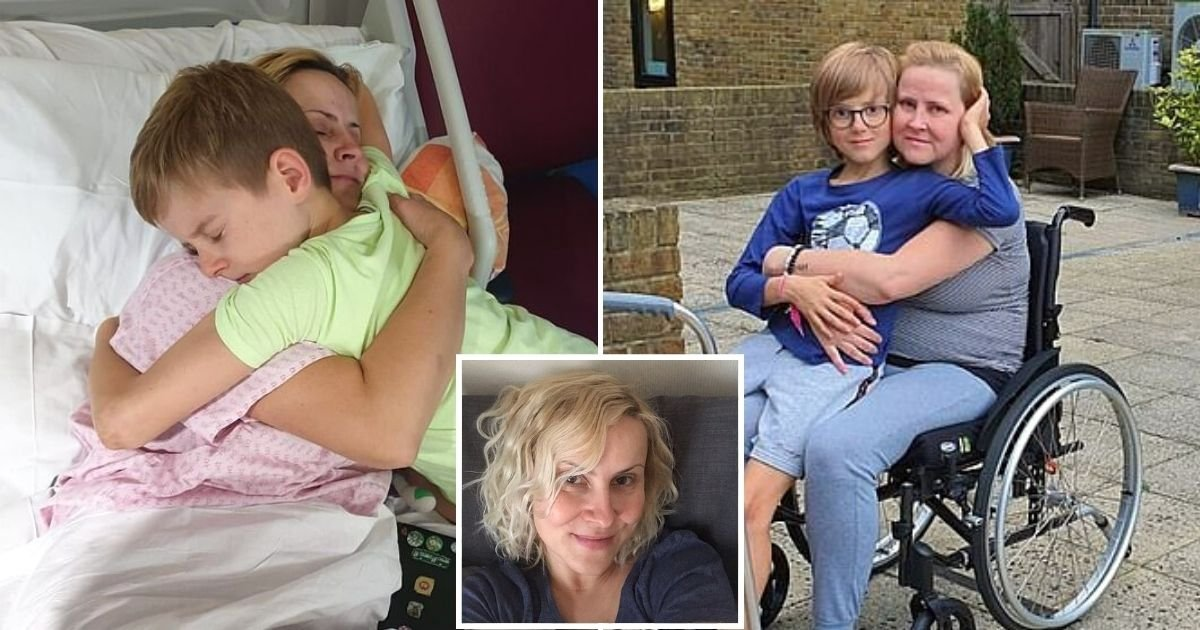 mother7.jpg?resize=1200,630 - Mother Who Woke Up Paralyzed From The Waist Down Discovered She Had Rare Condition That Caused Inflammation On Her Spine