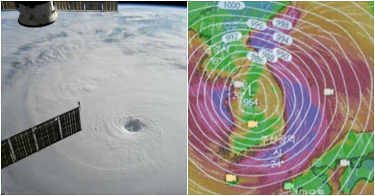 page 26.jpg?resize=1200,630 - 다가오고 있는 10호 태풍 '하이선'이 한반도 역사를 뒤흔들 '역대급' 태풍이라는 '충격적인' 이유 (사진)