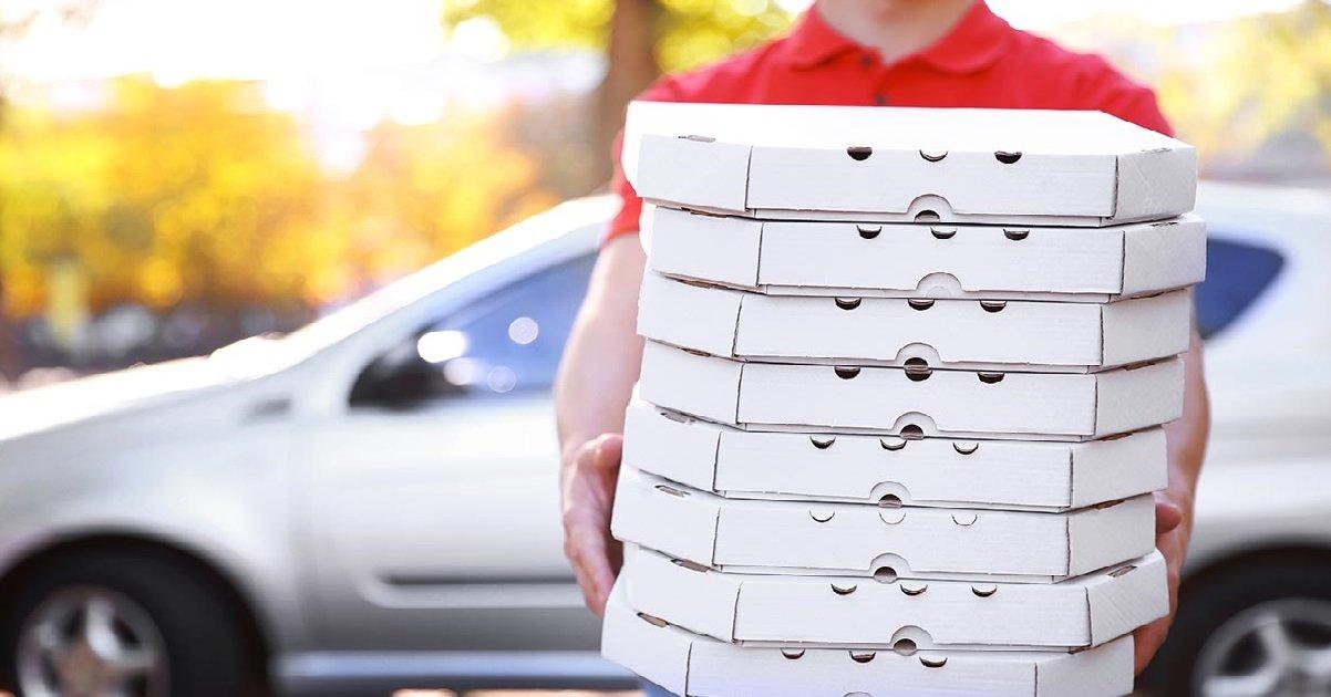 pizza 1.jpg?resize=412,232 - Belle histoire: Un livreur de pizza âgé de 89 ans a reçu un pourboire de 10.000 euros