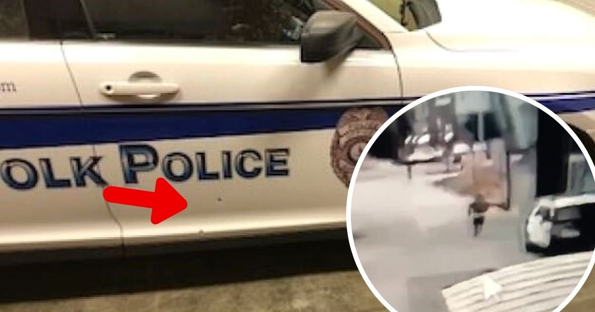 police5.jpg?resize=1200,630 - Manhunt Launched For Another Gunman Who Opened Fire At Police Car With An Officer Inside