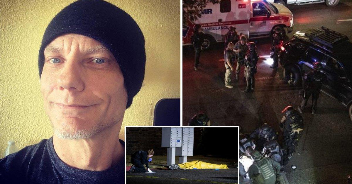 portland 1.jpg?resize=1200,630 - Suspect in Fatal Portland Killing Is Shot Dead by Officers During Arrest