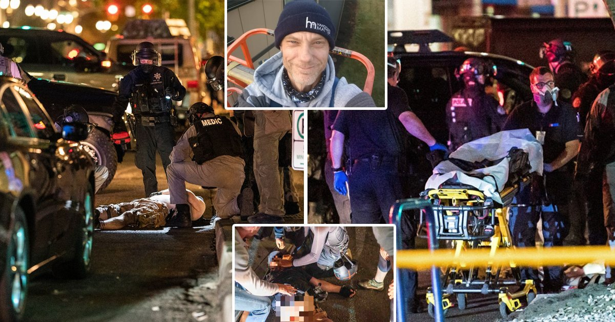 portland.jpg?resize=1200,630 - Portland Protestor 'Under Investigation' For Shooting Pro-Trump Activist