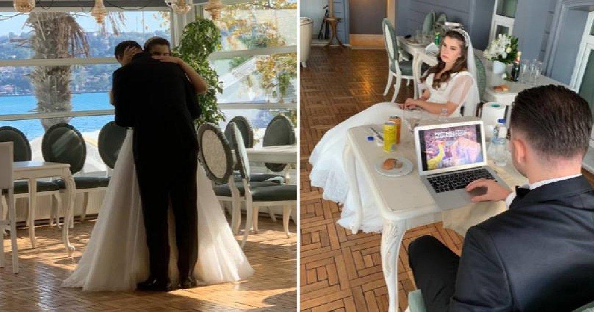 ppm.jpg?resize=412,232 - Insolite: pendant son mariage, un homme allume son ordinateur pour faire un jeu