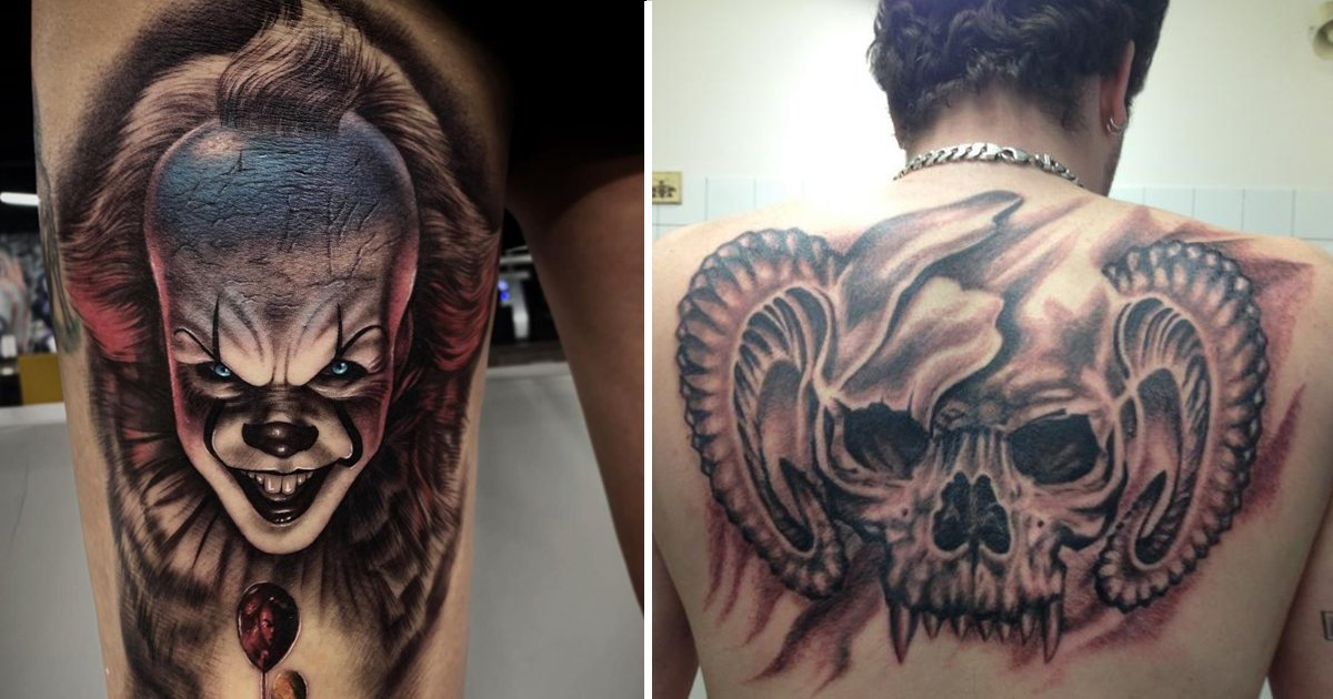 scary tattoos.jpg?resize=1200,630 - Scary Tattoos Are Trending But Can You Handle The Terrifying Ordeal?