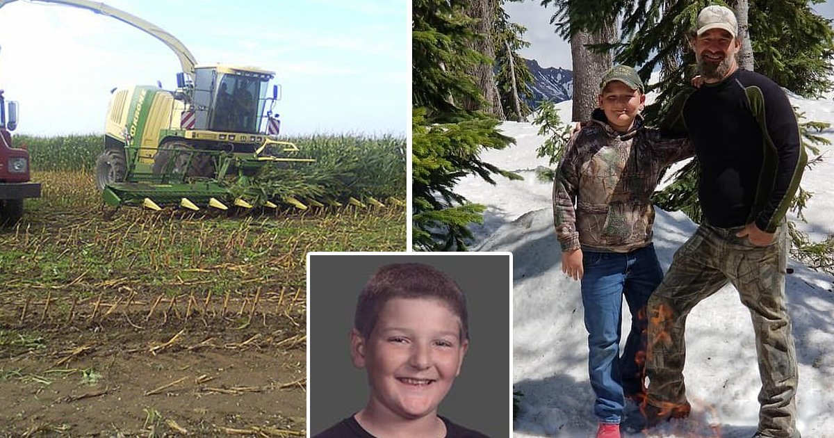 sdfsdf.jpg?resize=412,232 - Boy, 13, Killed By Corn Harvester After 'Falling Asleep' In Fields