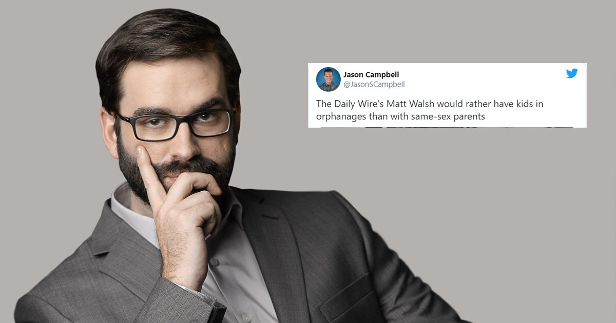 sdfsdfsssssssdfsf.jpg?resize=1200,630 - Shocking And Somewhat Troublesome Views of Matt Walsh Blogger