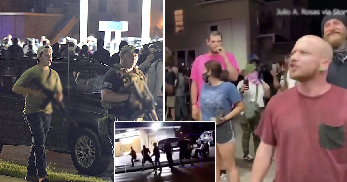 self defense.jpg?resize=1200,630 - Chilling Video Shows Teen Gunman Shooting BLM Protestor Dead In The Head In Kenosha