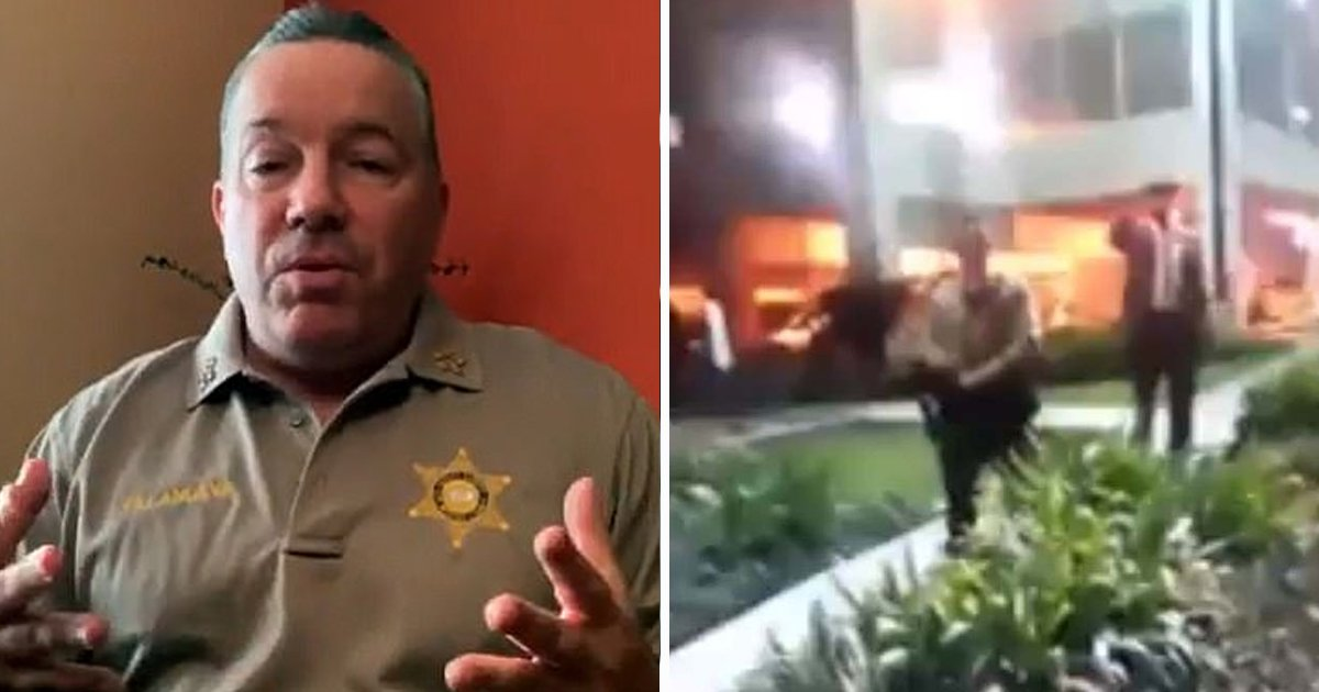 sheriff.jpg?resize=1200,630 - LA County Sheriff Responds To Protesters Chanting 'We Hope They F***ing Die' After Two Officers Land In The Hospital
