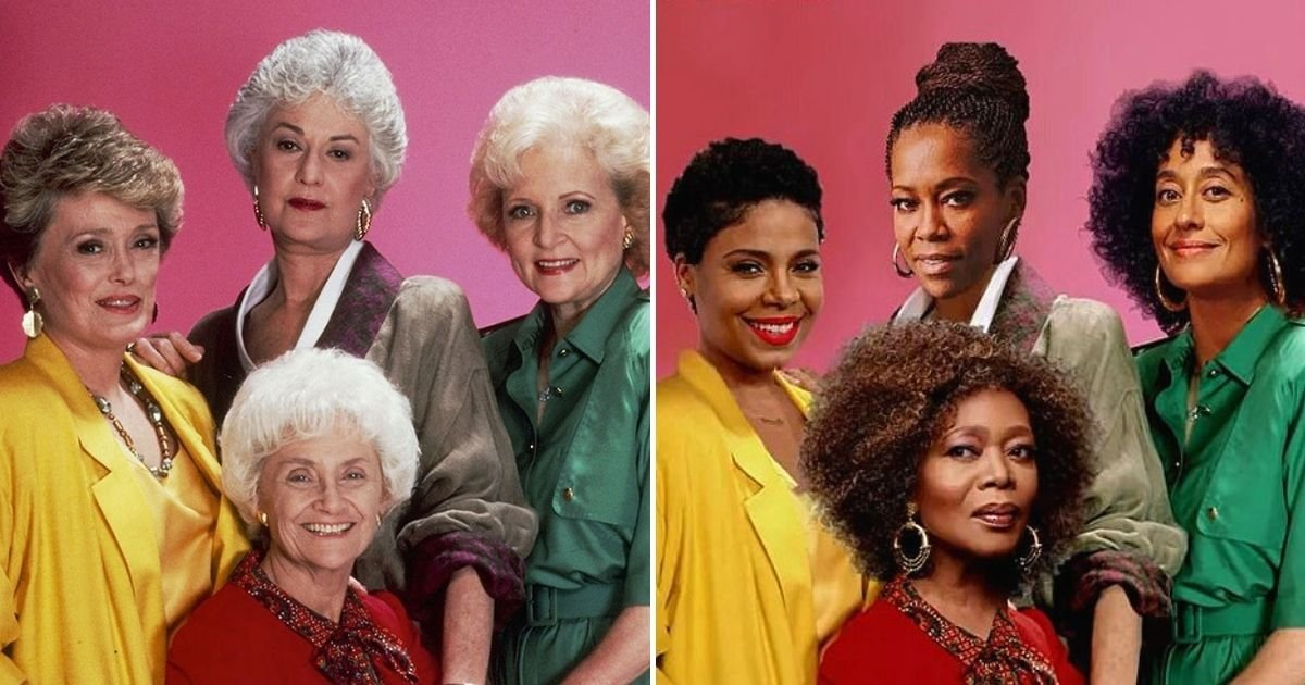 tgg.jpg?resize=1200,630 - Sitcom The Golden Girls Set To Be Remade With All-Black Cast Including Regina King And Tracee Ellis Ross
