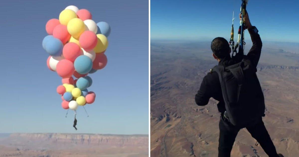 untitled 33.jpg?resize=1200,630 - 오직 헬륨 풍선 '50개'에 매달려 '사막' 횡단한 남성 (영상)