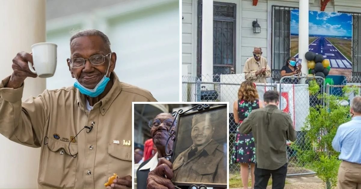 untitled design 1 18.jpg?resize=1200,630 - America's Oldest Surviving WWII Veteran Just Celebrated His 111th Birthday