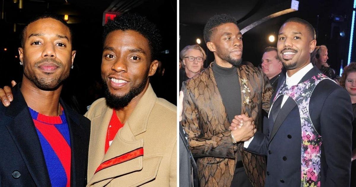 untitled design 1 2.jpg?resize=1200,630 - Black Panther's Michael B. Jordan Pays Tear-Jerking Tribute To Chadwick Boseman