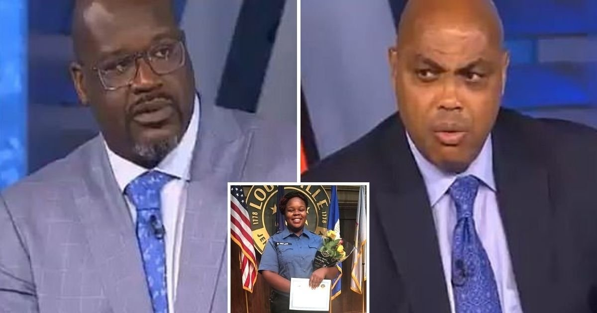 untitled design 1 28.jpg?resize=412,232 - Shaquille O'Neal And Charles Barkley Slammed Over Breonna Taylor Shooting Comments
