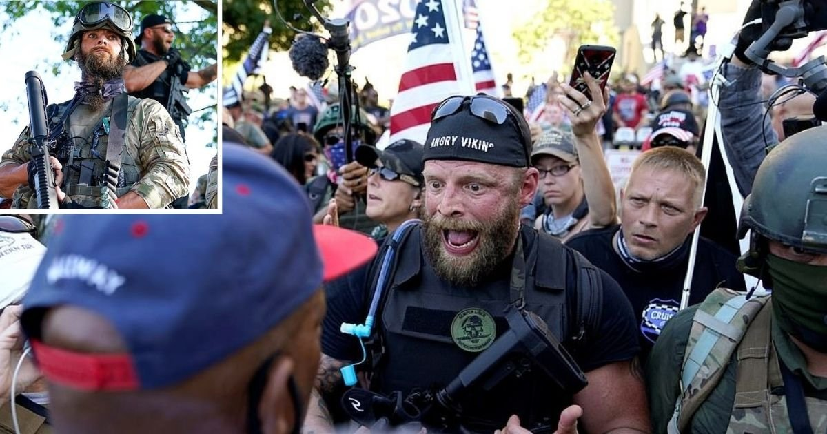 untitled design 1 6.jpg?resize=1200,630 - Armed Pro-Police Groups Clash With BLM Protesters During Breonna Taylor March