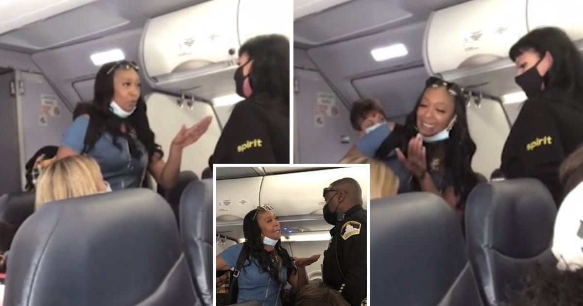 untitled design 2 16.jpg?resize=1200,630 - Woman Claiming To Be The Queen Of California Goes On A Racial Rant While On Plane