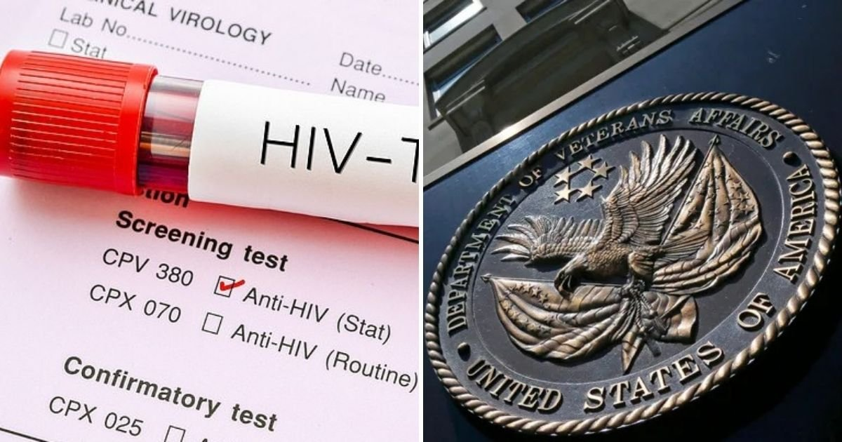untitled design 3 12.jpg?resize=1200,630 - Veteran Claims Officials Didn't Inform Him He Tested Positive For HIV Over 20 Years Ago