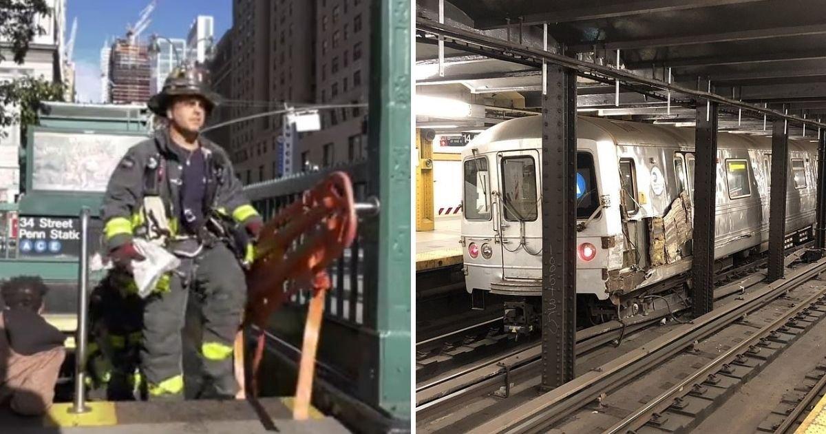 untitled design 3 19.jpg?resize=412,232 - Several People Injured As Subway Train Derails After Man Sabotages The Track