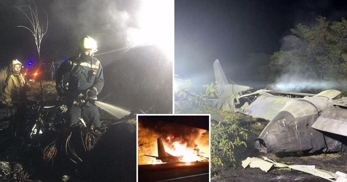 untitled design 33.jpg?resize=412,232 - At Least 22 Passengers Die As Military Plane Crashes And Bursts Into Flames In Ukraine