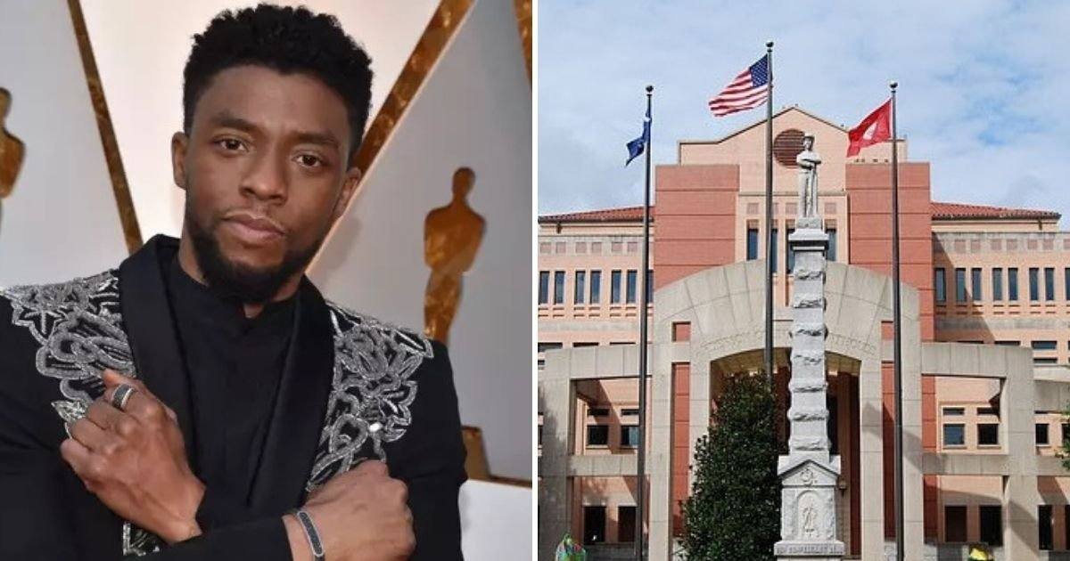 untitled design 4 3.jpg?resize=1200,630 - Thousands Demand Confederate Statue Is Replaced With Chadwick Boseman's Monument