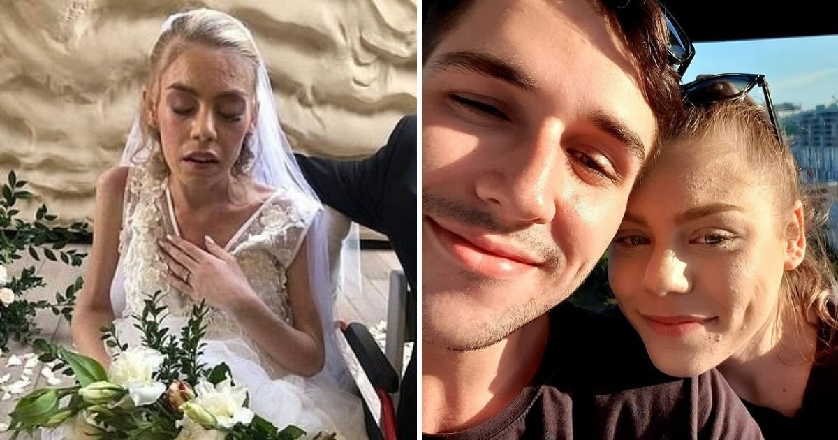 untitled design 4 6.jpg?resize=412,232 - Terminally-Ill Bride Marries Her Beloved Fiancé After Being Given Just Days To Live