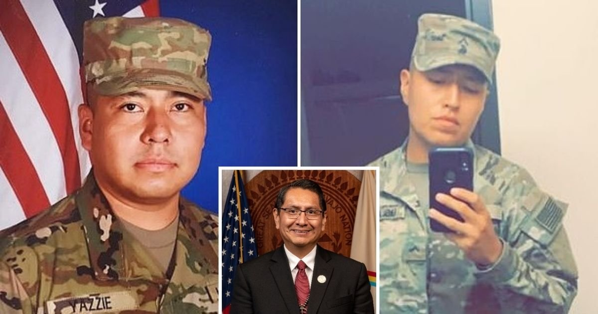untitled design 5 10.jpg?resize=1200,630 - Navajo Nation Demands Answers Following The Death Of Two Navajo Fort Hood Soldiers