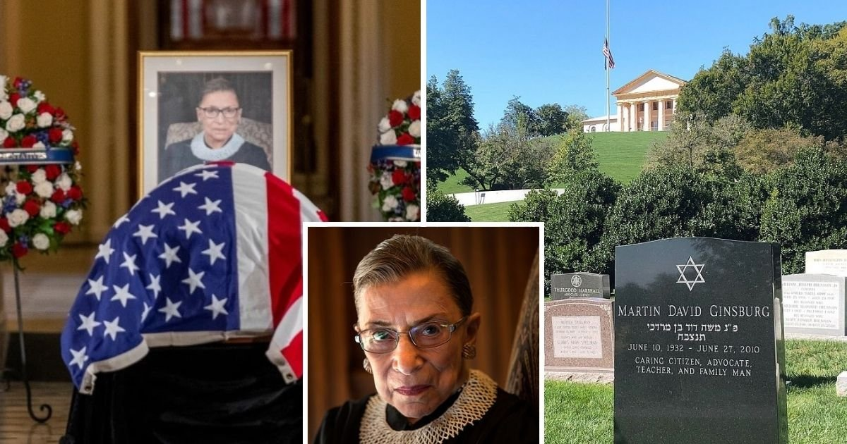 untitled design 5 20.jpg?resize=1200,630 - Justice Ruth Bader Ginsburg Is Laid To Rest At Arlington National Cemetery