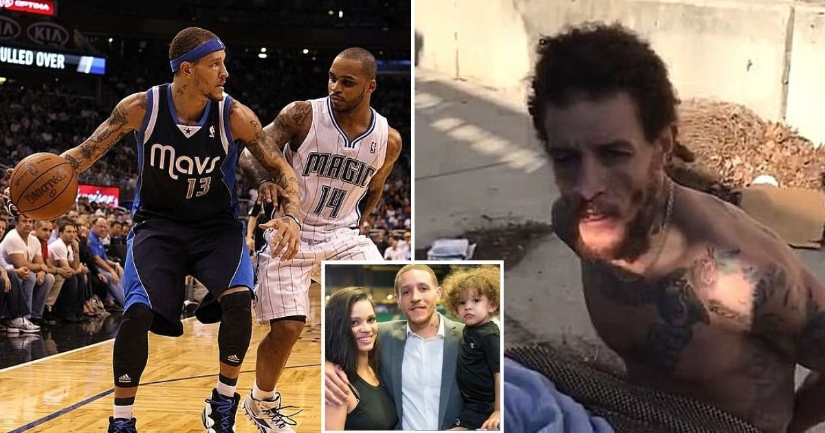 west6.jpg?resize=1200,630 - Mavericks Owner Mark Cuban Picks Up Former NBA Star Delonte West After Photos Of Him Begging On The Streets Went Viral