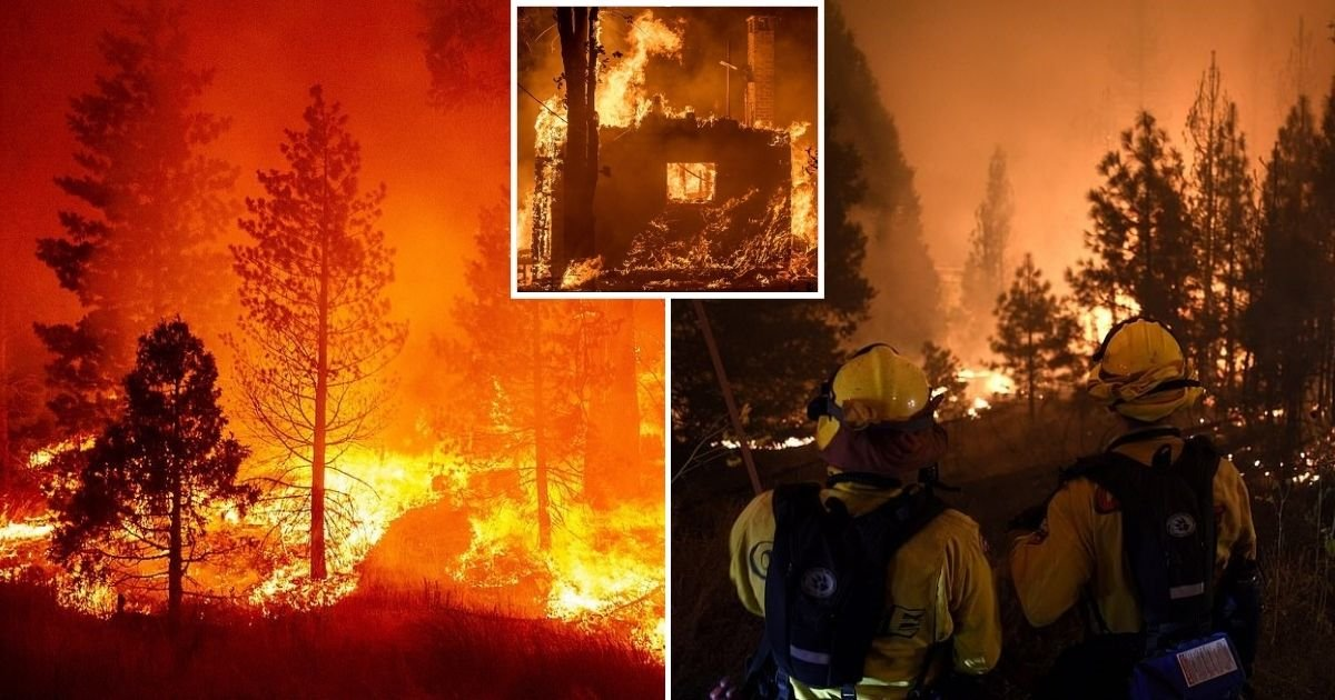 wildfire6.jpg?resize=1200,630 - At Least One Dead And 50 Trapped By Wildfires In California As Blazes Tear Through Colorado, Oregon, Utah And Washington