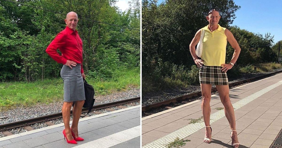 1 195.jpg?resize=412,232 - Hombre Quiere Demostrar Que Las Faldas Y Tacones No Son Solo Para Mujeres