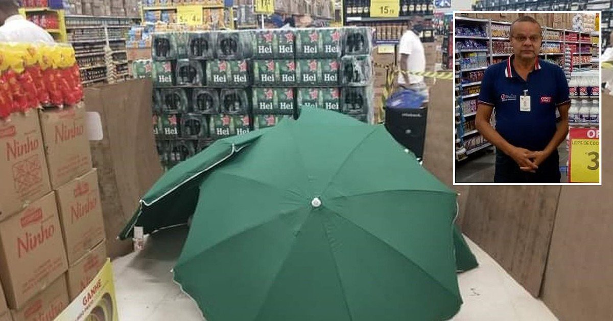 1 228 3.jpg?resize=1200,630 - Store Employees Covered Dead Worker With Umbrellas Before Allowing Shopping To Resume