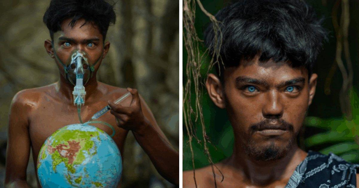 1 49.jpg?resize=1200,630 - Azules Y Brillantes: Así Son los Ojos De Una Tribu Con Una Rara Mutación Genética