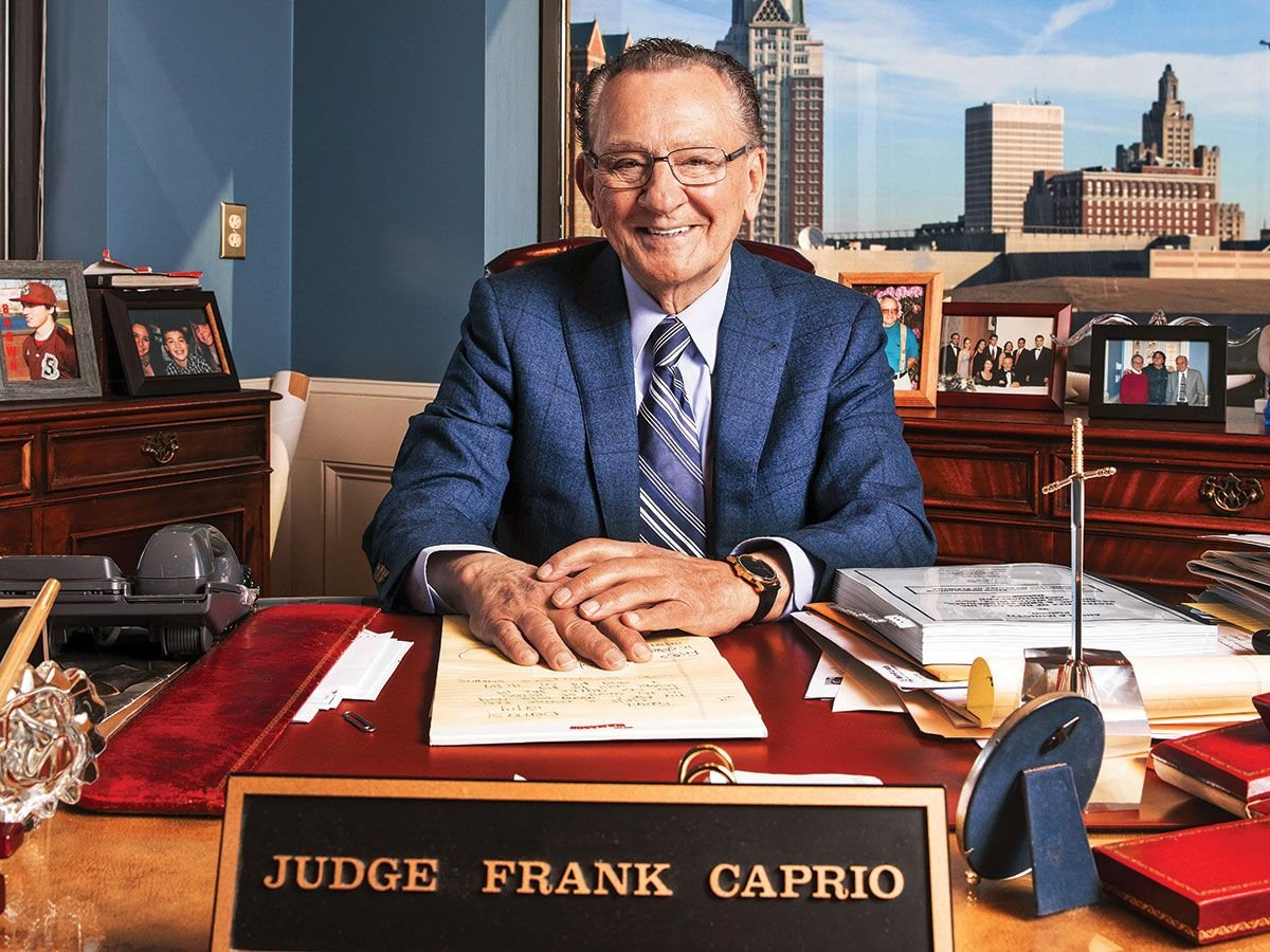 is frank caprio a real judge?