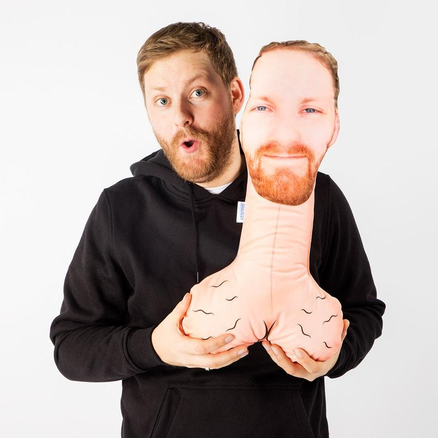 dick with face