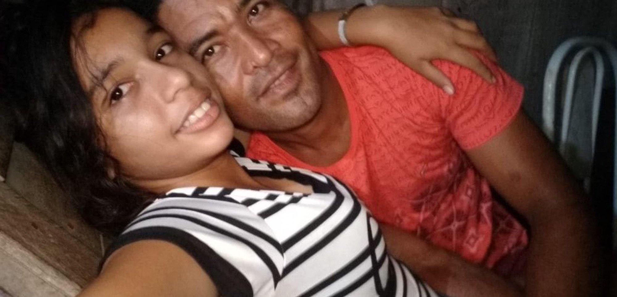 Luana Costa was allegedly subjected to sexual assaults by Francinildo Moraes, 43, (both pictured) before and during her pregnancy