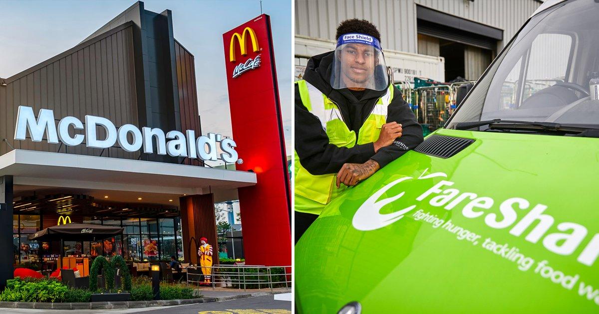 agadgag.jpg?resize=1200,630 - McDonald's Joins Marcus Rashford's Campaign, Donates 1 Million Free School Meals