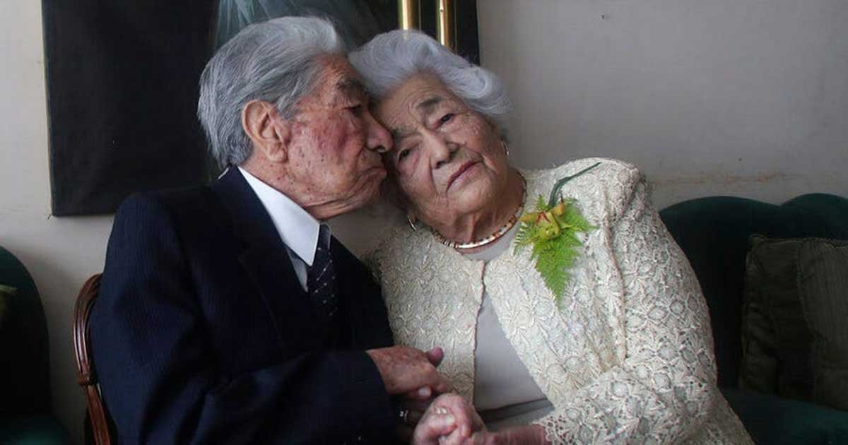 ap 1 1.jpg?resize=1200,630 - Husband Of World's Oldest Married Couple Dies At Age 110