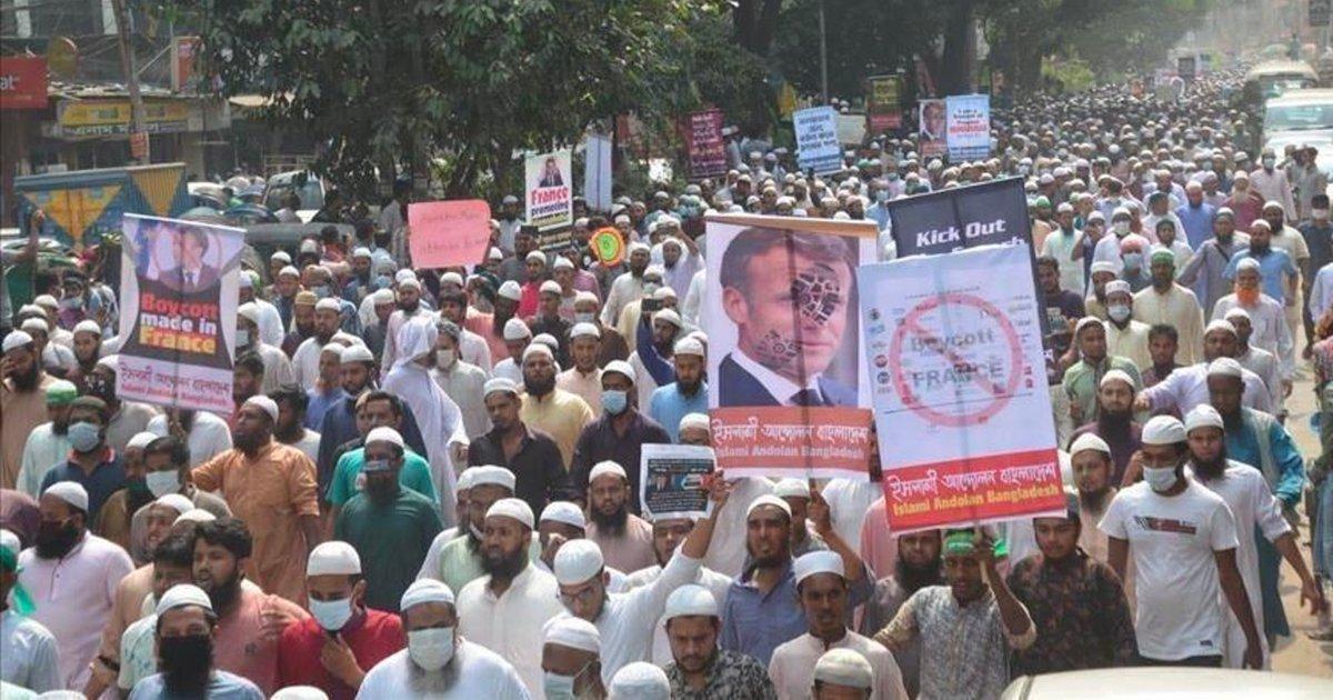 bangladesh.png?resize=1200,630 - Bangladesh : des milliers de manifestants ont appelé au boycott des produits français