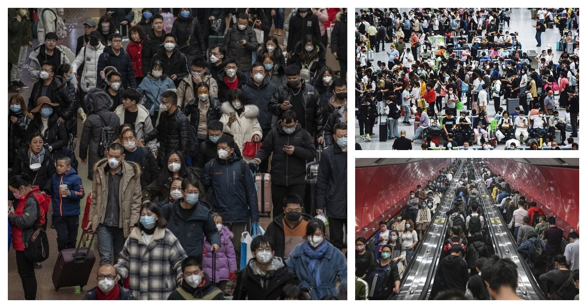 collage 1.jpg?resize=412,275 - China Acts As If The Pandemic Is Over As Approximately 600 Million Trips Have Been Booked Next Week