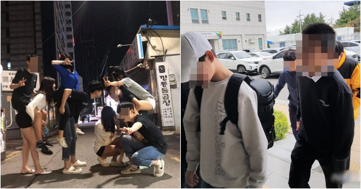 "collage 9.png?resize=1200,630 - ""경찰 존X 팰까 ㅋㅋ""올해 한국을 뒤집어 엎은 대한민국의 미래인 '촉법소년'들의 근황 (사진)"
