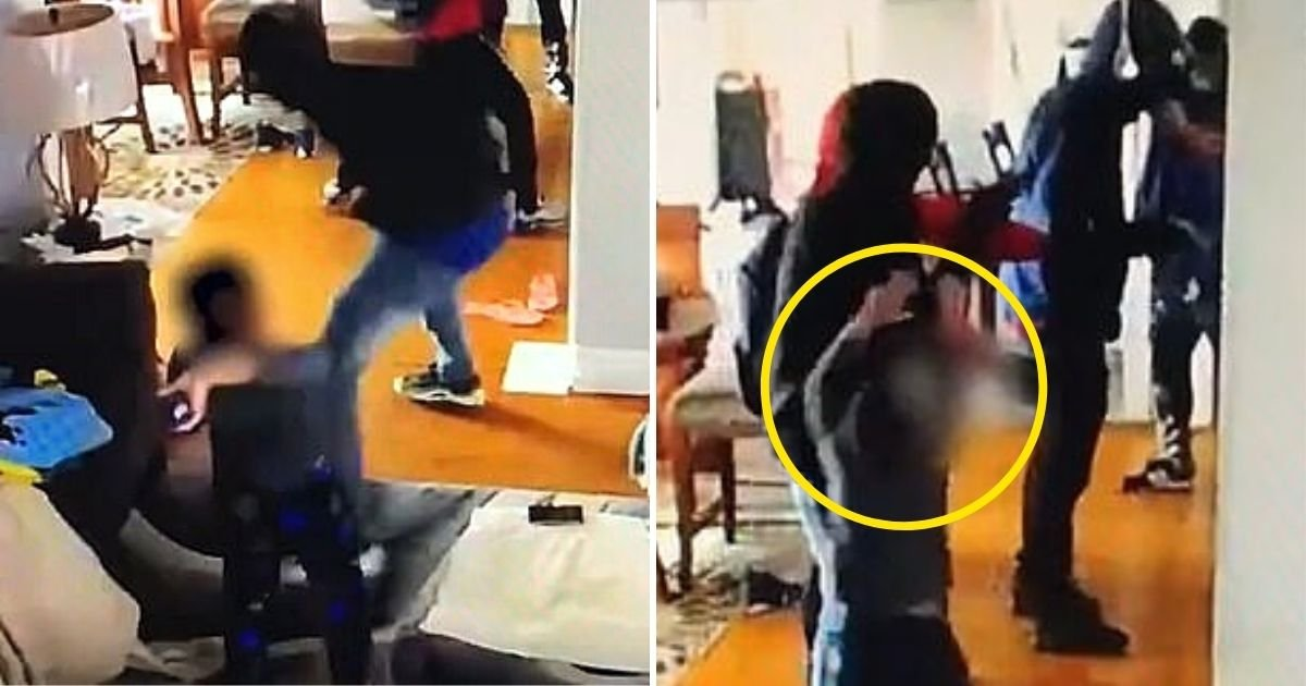 david6.jpg?resize=1200,630 - 5-Year-Old Boy Fought Armed Burglar Who Has Taken Him And His Mother Hostage