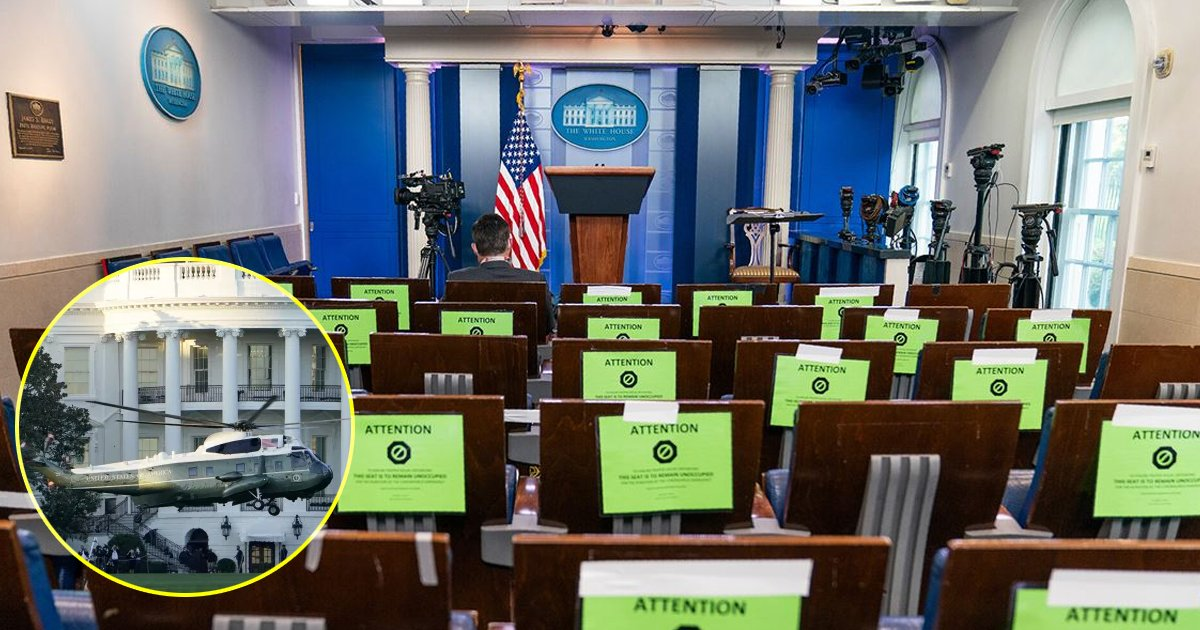 dfsdfsf.jpg?resize=1200,630 - Three Reporters Working At The White House Tested Positive For The Coronavirus