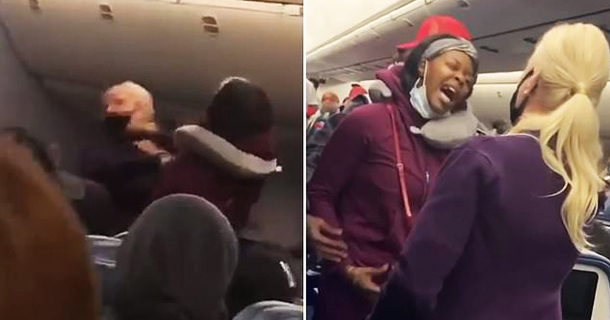 dgsgsg.jpg?resize=1200,630 - Delta Passenger Punches Flight Attendant After 'Refusal To Wear Face Mask Correctly'