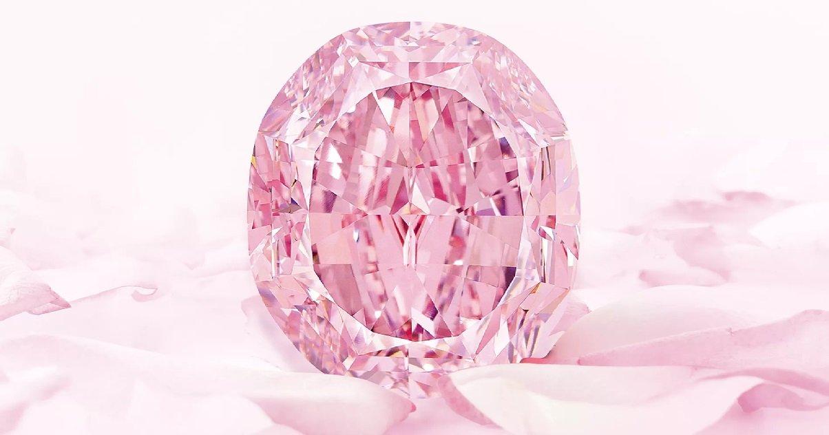 diamant001.jpg?resize=1200,630 - Spectre, un des plus gros diamant rose du monde va être mis aux enchères