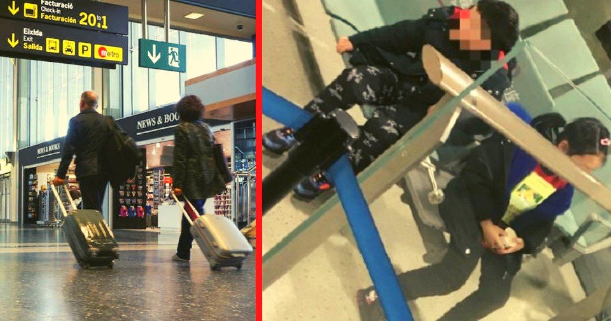 diseno sin titulo 1 2.png?resize=1200,630 - Pareja Abandona A Sus Hijos En El Aeropuerto Porque Uno De Ellos Tenía Una Enfermedad Contagiosa