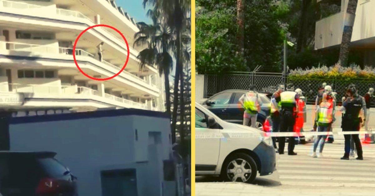 diseno sin titulo 6.png?resize=1200,630 - Hombre Fallece Tras Ser Aplastado Por Un Turista Que Se Precipitó Desde El Balcón Del Hotel Donde Se Alojaban
