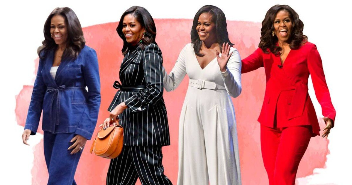 e18486e185aee1848ce185a6 2020 10 11t001135 001.jpg?resize=412,275 - Michelle Obama Discloses Where She Got Her Outfits As First Lady