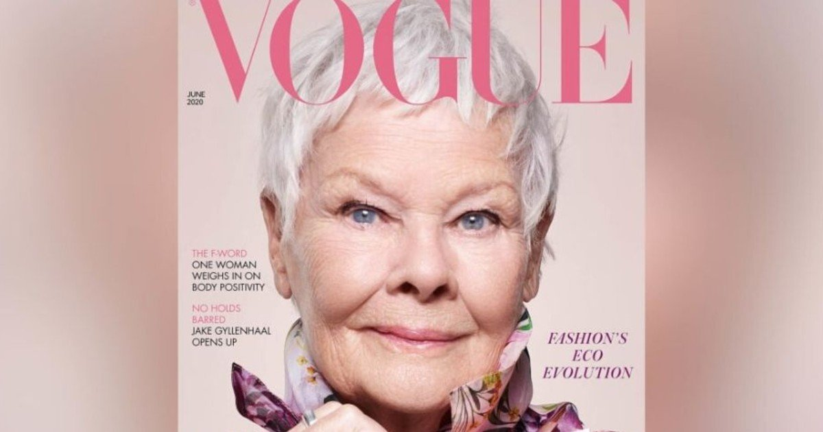 e18486e185aee1848ce185a6 29 1.jpg?resize=1200,630 - Award Winning Actress Judi Dench Becomes British Vogue's Oldest Cover Star